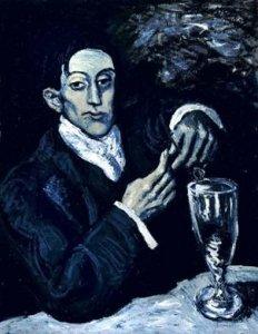 """Шедевр кисти Пикассо знаменитого """"Голубого периода"""" на аукционе Christie's в иню 2010 года"""