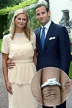 Две невесты-принцессы из королевской семьи выходят замуж