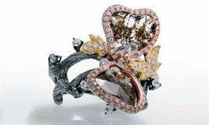 Необычное кольцо Butterfly, как напоминание о природе