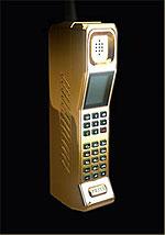 Мобильный телефон в ретро стиле