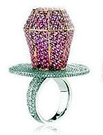 Бриллиантовое кольцо-соска для Марайи Кэри