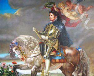 Портрет Майкла Джексона продан за $175.000