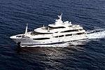 На каких яхтах и где отдыхали этим летом знаменитости?
