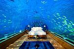 Подводное царство для молодоженов на Мальдивах