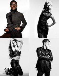 Всесезонная коллекция кожаной одежды от Loewe