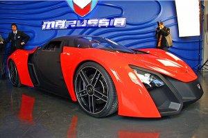 Производство спорткара Marussia набирает обороты