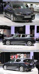 Lexus CT 200h на Парижском автосалоне