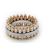 Кольцо из «золотых пуль»  от дизайнера Karla Fox