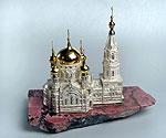 «Успенский собор» из серебра, золота и драгоценных камней