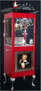 Автомат для приготовления попкорна в стиле ретро