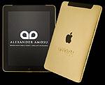 Золотой iPad в подарок от Александра Амосу
