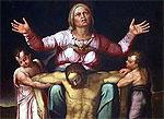 Подлинный шедевр Микеланджело пылился за диваном