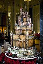 Сахарный замок в отеле Westin St. Francis