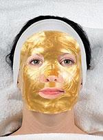 Золотая маска, чтобы обновить кожу к праздникам