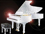 Сверкающие рояли от CrystalRoc и Steinway & Sons поражают воображение