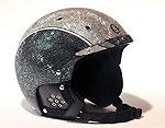 Лыжный шлем с кристаллами Сваровски