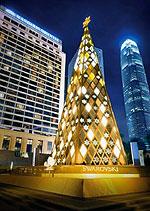 20.000.000 кристаллов пошло на украшение Рождественской ели