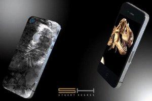 Зуб динозавра и метеорит – как драгоценное украшение для iPhone 4