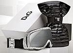 Очки со стразами дополнят лыжный шлем с кристаллами Сваровски