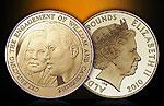 Памятные монеты в честь помолвки принца Уильяма и Кейт Миддлтон