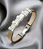 Магнитный браслет с бриллиантами, как необычное украшение