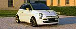 Драгоценный Fiat 500 C от ателье Fenice Milano