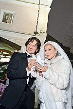 Ещё две шикарные свадьбы знаменитостей России 2010 года