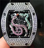 Часы со змейками RM 026 от Ричарда Милла