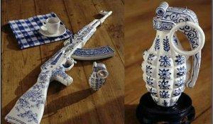 Необычные изделия из фарфора от Краффта