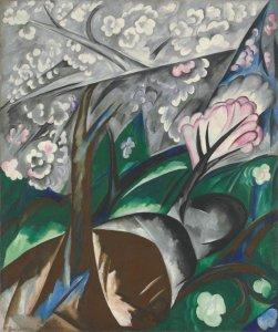 """На торги Christie's будет выставлена картина Натальи Гончаровой """"Яблони в цвету"""""""