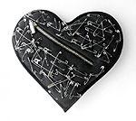 Черное сердце, как символ любви