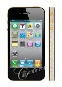 Недорогой драгоценный iPhone от Continental Mobiles