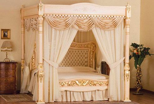королевские кровати фото