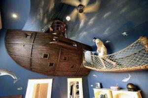 Детская в пиратском стиле - манящий мир приключений