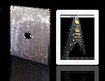 В Лондоне для iPad 2 приготовили «стразовую» одежду