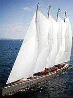 Парусная мега-яхта побьёт все рекорды!