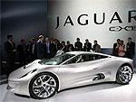 Один из самых быстрых электрокаров в мире - Jaguar C-X75