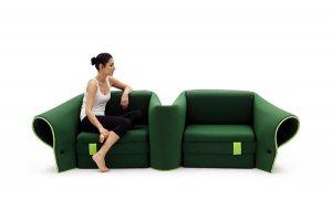 Универсальный диван от итальянского дизайнера