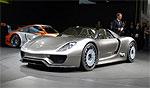 Гибридный Porsche 918 Spyder - самый, самый, самый...