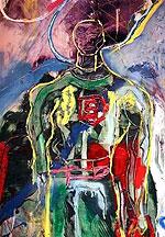 Картины художника-экспрессиониста Сильвестра Сталлоне пользуются успехом