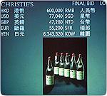 Азия становится мировым центром продажи элитных вин
