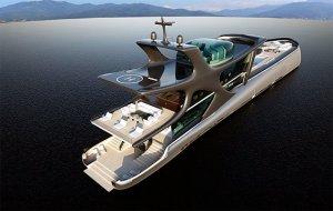 На строительство яхты «Белуга» уйдёт $200.000.000