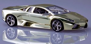 Золотой мини-суперкар стоит около $100.000