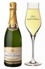 Создана эксклюзивная серия шампанского «Мэрилин Монро».