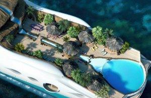 Новая яхта-отель: «рай» на воде или остров всегда с тобой