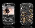 Телефону «Blackberry Bold 9900» очень «к лицу» стразы Swarovski