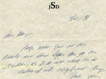 Личная записка автора романа «Над пропастью во ржи» продаётся на аукционе за $50 000