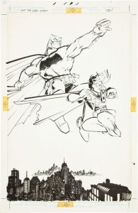 Набросок к комиксу «Бетмен» продавали за $125 000