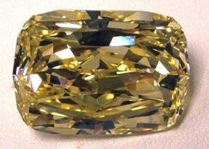 Идеально чистый жёлто-золотистый алмаз появился на онлайн-аукционе: эстимейт - $900 000