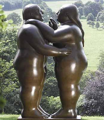 Рекордно дорогую скульптуру Ботеро продали на аукционе Christie's